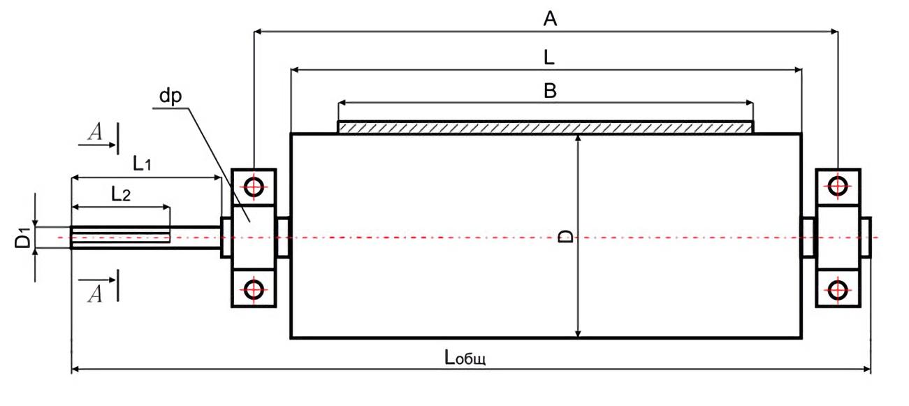 Диаметры натяжных барабанов конвейеров фольксваген транспортер т4 ресурс двигателя